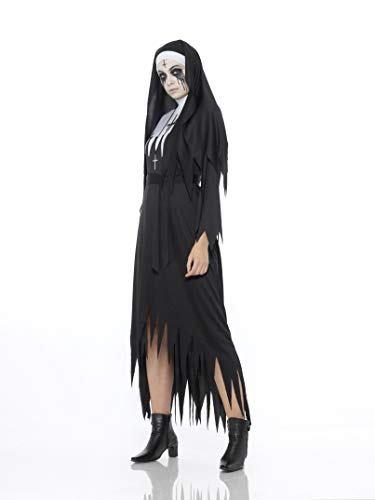 Halloween Costumes for Women, Zombie Nun (X-Small)