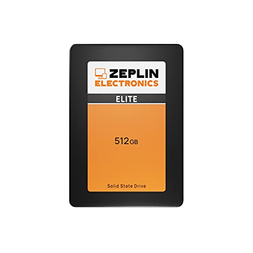 ZEPLIN ELECTRONICS 512GB Elite 3D Nand Internal SSD SATA3 Solid State Drive