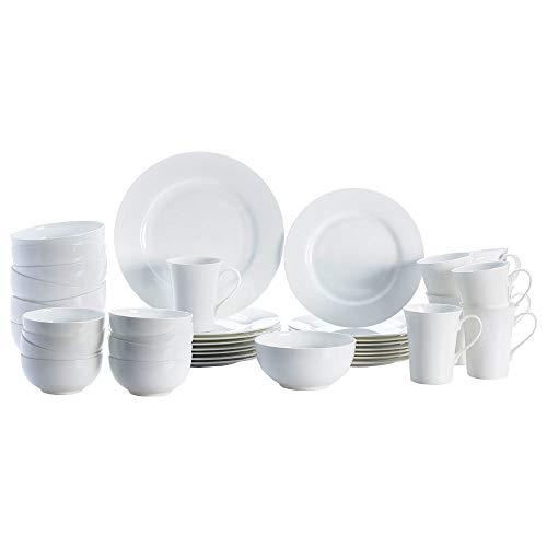 Mikasa Delray 40-Piece Dinnerware Set, Service for 8
