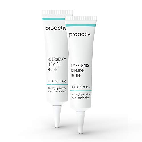 Proactiv Emergency Blemish Relief - Benzoyl Peroxide Gel - Acne Spot Treatment For Face and Body - 2 pack, .33 oz.