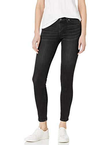 prAna Women's Big London Jean - Tall Inseam, Black, 2