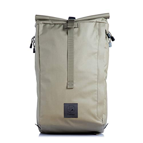 f-stop – Dalston 21L Roll Top Camera Backpack for DSLR, Mirrorless, Urban, Travel Photography (Aloe Green)