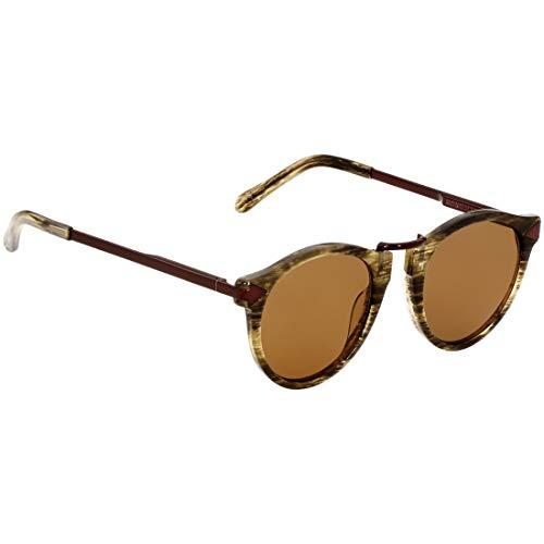 Karen Walker Hemingway Tortoise Acetate Frame Brown Lens Ladies Sunglasses 1723211