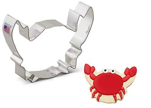 Ann Clark Cookie Cutters Crab Cookie Cutter, 5.5'