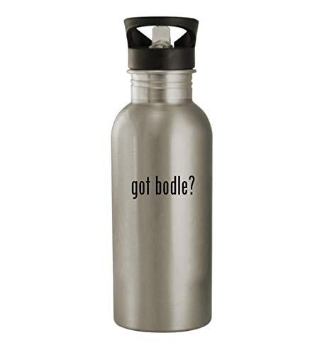 got bodle? - 20oz Stainless Steel Water Bottle, Silver