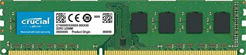 CRUCIAL TECHNOLOGY 8GB Single DDR3L 1600 MT/s CL11 Unbuffered CT102464BD160B