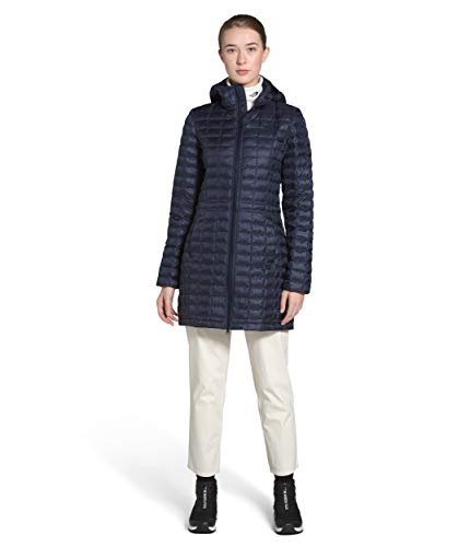 The North Face Women's Thermoball Eco Parka, Aviator Navy, L