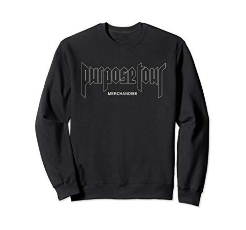 Justin Bieber Official Outline Purpose Tour Dateback Sweatshirt