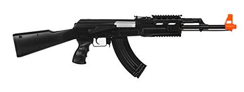 UKARMS AK-47 AEG Semi/Full Auto Electric Airsoft Rifle Gun High Capacity Magazine FPS 150