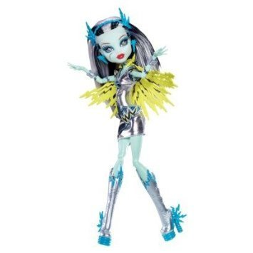 Monster High (Monster High) Exclusive Power Ghouls Frankie Stein as Voltageous Doll doll figure (parallel import)
