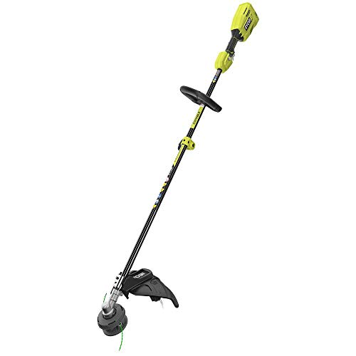 RYOBI P20101BTL One+ 18-Volt Lithium-Ion Cordless Attachment Capable Brushless String Trimmer (Tool-Only)