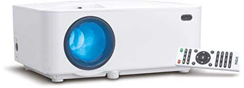RCA Bluetooth Enabled Home Projector, HD, LED, White