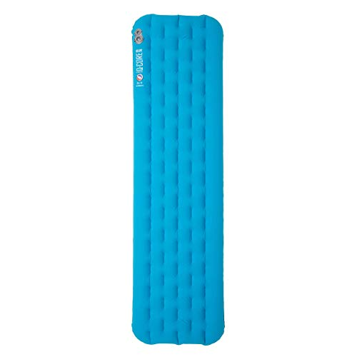 Big Agnes Insulated Q-Core Deluxe Sleeping Pad for Backpacking and Camping, 20x72 (Regular)