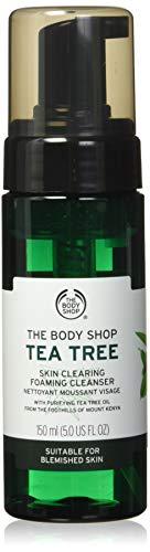 The Body Shop Tea Tree Skin Clearing Foaming Cleanser, 5 Fl Oz (Vegan)