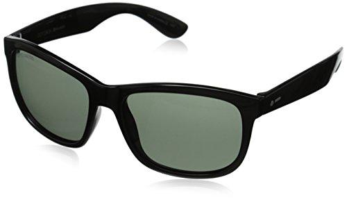 Dot Dash Poseur Polarized Wayfarer Sunglasses, Black, 54 mm