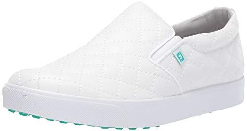FootJoy womens Fj Sport Retro Golf Shoes, White, 8.5 US