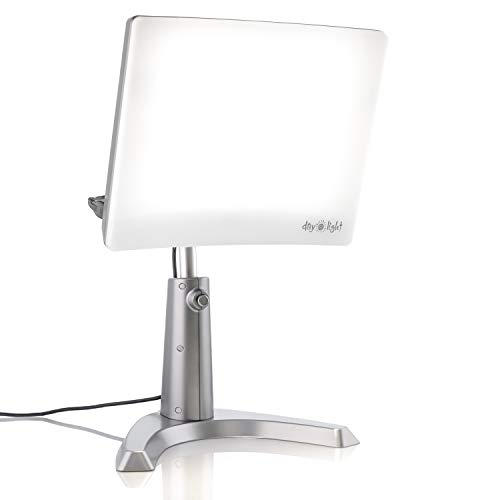 Carex Day-Light Classic Plus Bright Light Therapy Lamp - 10,000 LUX At 12 Inches - LED Sun Lamp Mood Light and Sunlight Lamp