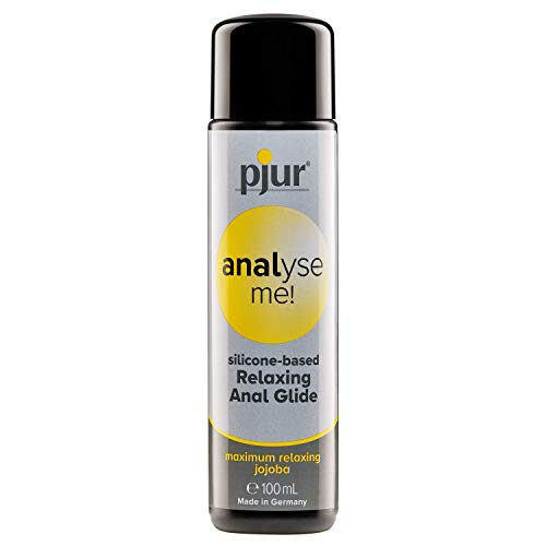 pjur Analyse Me Silicone Based Special Lubricant for Anal Sex Unisex Personal Lube | 3.4 fl.oz/100ml