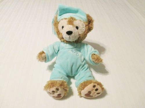 Disney Parks Hidden Mickey My First Duffy Bear Teddy Aqua Pajamas & Hat Fits 10'-13' Plush Baby Bear Clothes ONLY NO Bear Included
