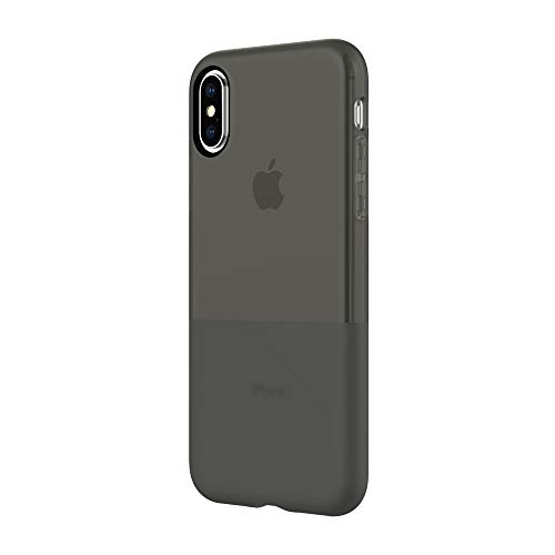 Incipio NGP Case iPhone iPhone Xs (5.8') & iPhone X Case with Translucent Flexible Shock Absorbing Drop Protection - Black (IPH-1779-BLK)