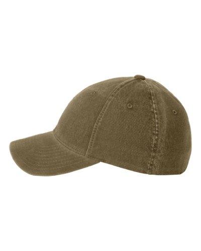 Flexfit Low-profile Soft-structured Garment Washed Cap (Loden, Large/X-Large)