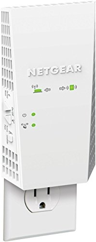 NETGEAR AC1900 Mesh WiFi Extender, Seamless Roaming, One WiFi Name, Works with Any WiFi Router. Create Your own Mesh WiFi System (EX6400) (Renewed)