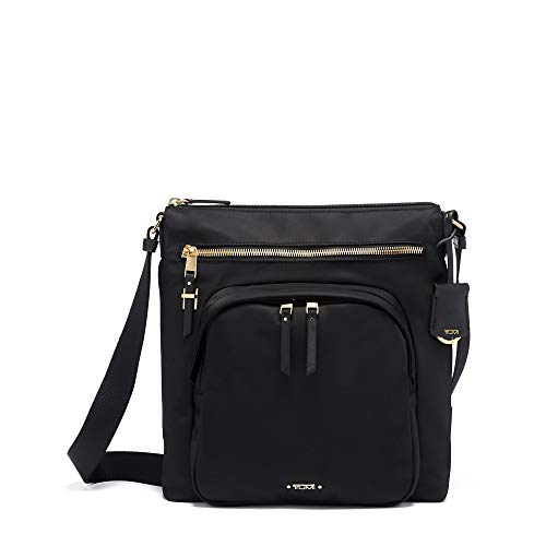 TUMI - Voyageur Carmel Crossbody Bag - Over Shoulder Satchel for Women - Black