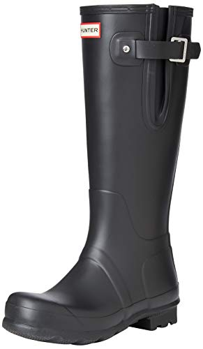 Hunters Boots Men's Original Side Adjustable Tall Boots, Black, 9-9.5 Medium US