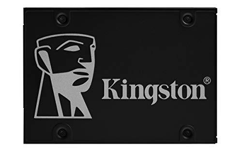 Kingston KC600 SSD SKC600/1024G Internal SSD 2.5 Inch, SATA Rev 3.0, 3D TLC, XTS-AES 256-bit Encryption