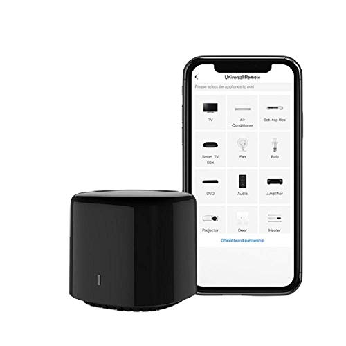 Bestcon RM4C Mini Universal IR Blaster WiFi Infrared Remote Control Compatible with Alexa Google Home for A/C Broadlink APP