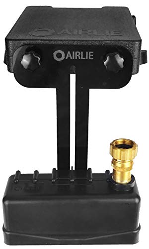 Airlie Pool Water Leveler, Automatically Adjusts Pool Water Level, Included Pressure Reducing Valve, User Friendly Design (Black)