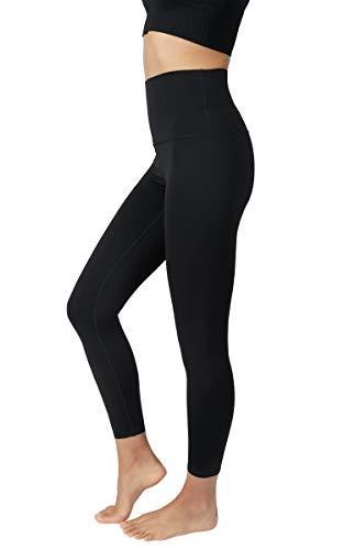 90 Degree By Reflex Ultralink Super High Waist Elastic Free 7/8 Ankle Legging - Black Super High Waist 25' - XL