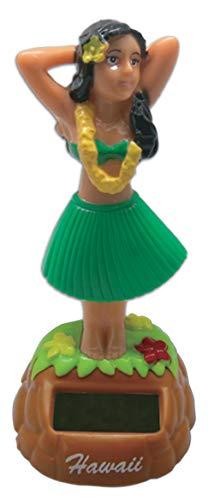 KC Hawaii Hula Dashboard Doll Posing Solar