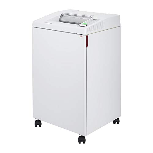 ideal. 3104 Strip-Cut Centralized Office Shredder,Continuous Operation, 27–30 Sheet Feed Capacity, 32 Gallon Bin, Shred Staples/Paper Clips/Credit Cards/CD/DVDs, 1 HP Motor, P-2 Security Level