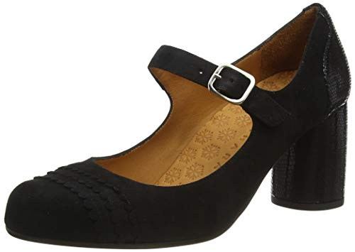 Chie Mihara Women's Mary Jane Pump, Black, 8 us