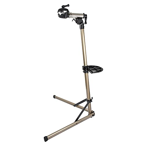 Bikehand E Bike Repair Stand (Max 110 lbs)-Heavy Duty- Home Portable Bicycle Mechanics Workstand - Great for EBIKE Mountain Bikes and Road Bikes Maintenance
