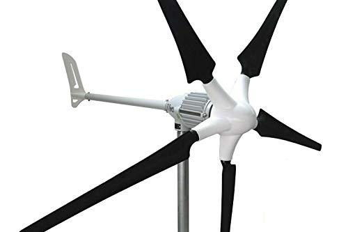 Ista Breeze i-1500W 24V Black - Version 5 Blade Windgenerator, Wind Turbine
