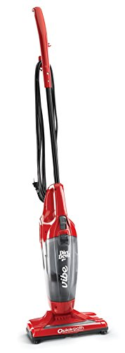 Dirt Devil SD20020 Vibe 3-in-1 Vacuum Cleaner, Lightweight Corded Bagless Stick Vac with Handheld, Red