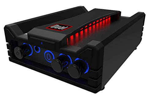 Dual Electronics DBTMA100 Micro Wireless Bluetooth 2 Channel Stereo Class-D Amplifier with   Universal Plug-In   Stereo RCA Outputs   100 Watts Peak Power   Up to 100ft of Wireless Bluetooth Range