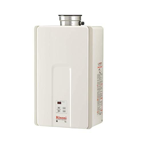 Rinnai V65IP Tankless Water Heater, Large, V65iP-Propane/6.5 GPM