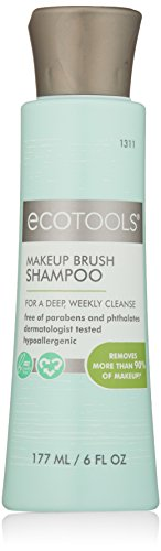 Ecotools Makeup Brush Cleaner Cleansing Shampoo, 6 oz