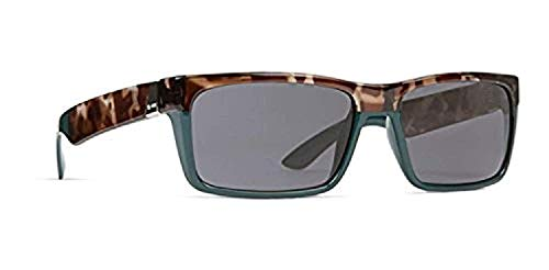 Dot Dash Lads Adult Sunglasses, Black Clear/Grey One Size