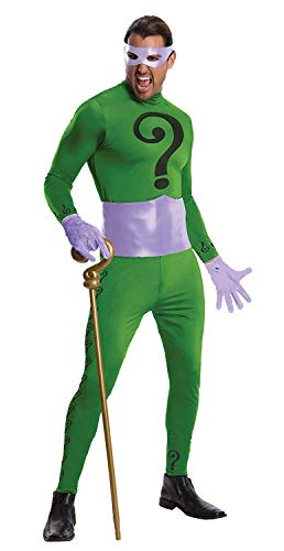 Rubie's Grand Heritage Riddler Classic TV Batman Circa 1966, Green/Purple, X-large Costume