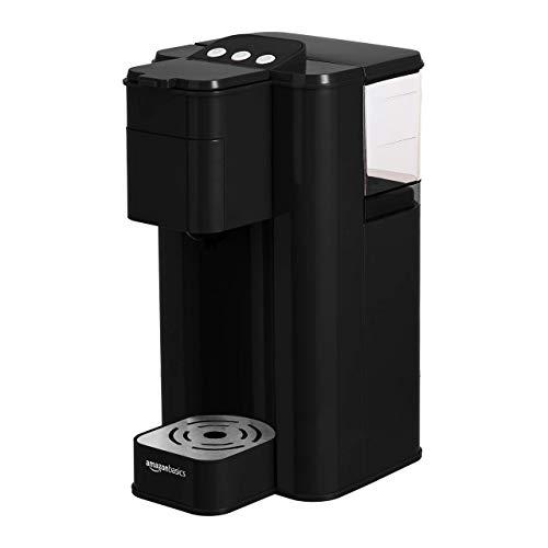AmazonBasics Single Serve Capsule Coffee Maker, Black (Renewed)