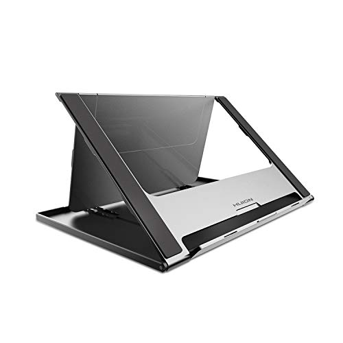 HUION Adjustable Tablet Stand Multi-Angle Portable Desk Stand for 10-15.6' Graphics Drawing Monitor Tablet Pen Display,Suitable for Kamvas Pro 16/Pro 12/Pro 13,Kamvas 16,iPad Pro, Wacom Cintiq