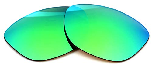 Polarized IKON Replacement Lenses Compatible with Ray Ban RB4181 Sunglasses - Emerald Green Mirror