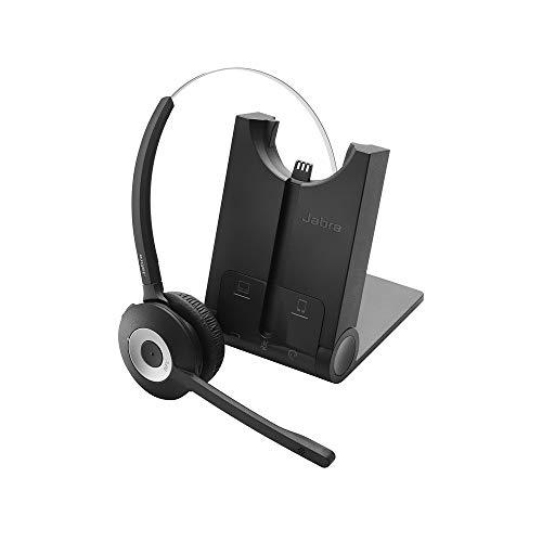 Jabra PRO 930 MS Mono Lync Optimized Wireless Headset for Softphone , Black , Mono Speaker