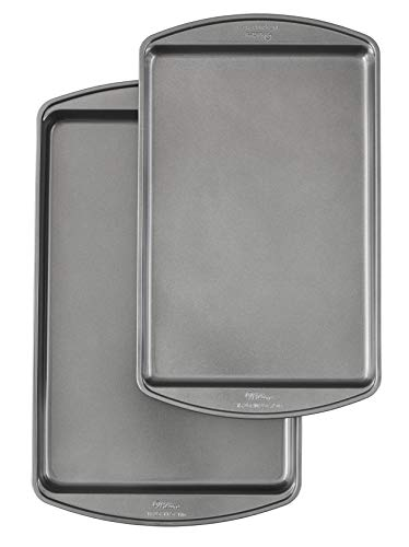 Wilton Perfect Results Premium Non-Stick Bakeware Cookie Baking Sheets Set, 2-Piece