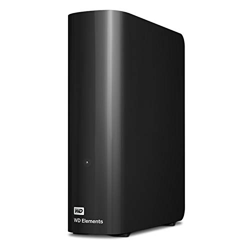 WD 4TB Elements Desktop Hard Drive HDD, USB 3.0, Compatible with PC, Mac, PS4 & Xbox - WDBWLG0040HBK-NESN