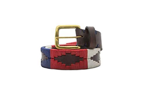 Gaucho Goods Mens Premium Leather Belt - The Patriot (34')